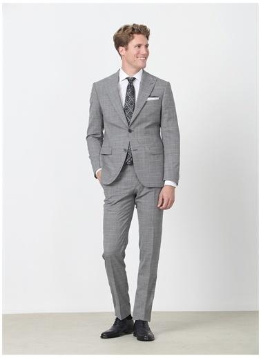Kip Kip Erkek Slim Fit Gri Takım Elbise Gri